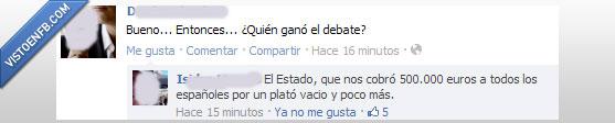 Debate,españa,política