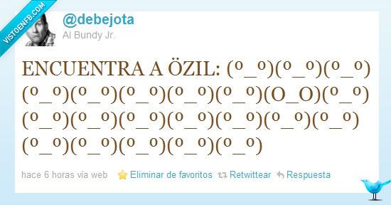 busca,ozil,twitter