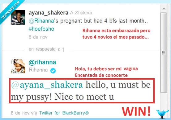 embarazada,epic,Rihanna,troll,Twitter,Win