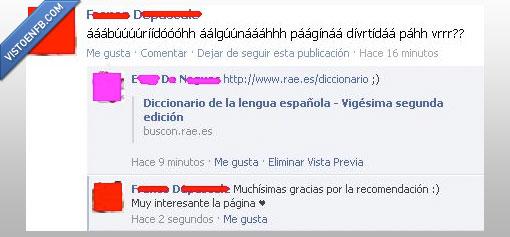 Cani,Comentario,Diccionario,Facebook,FB,RAE