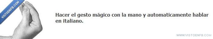 Gesto,Italiano,Mano