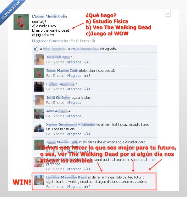 dead,estudiar,facebook,física,futuro,walking,wow