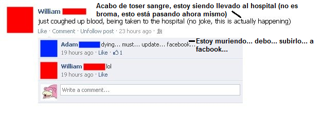 facebook,hospital,lol,toser sangre