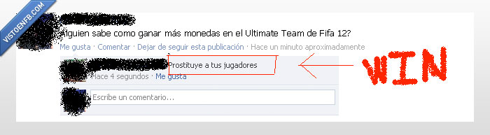 Fifa12,monedas,prostituirse,Ultimate team