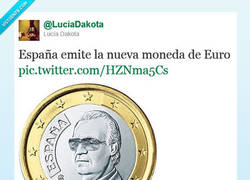 Enlace a La nueva moneda de Euro por @LuciaDakota