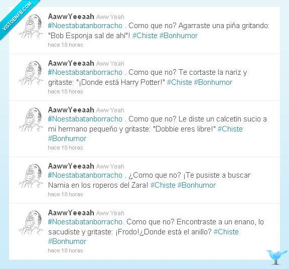 #noestabatanborracho,Borracho,twitter