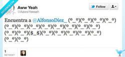 Enlace a Encuentra a Alfonso Díez por @AawwYeeaah