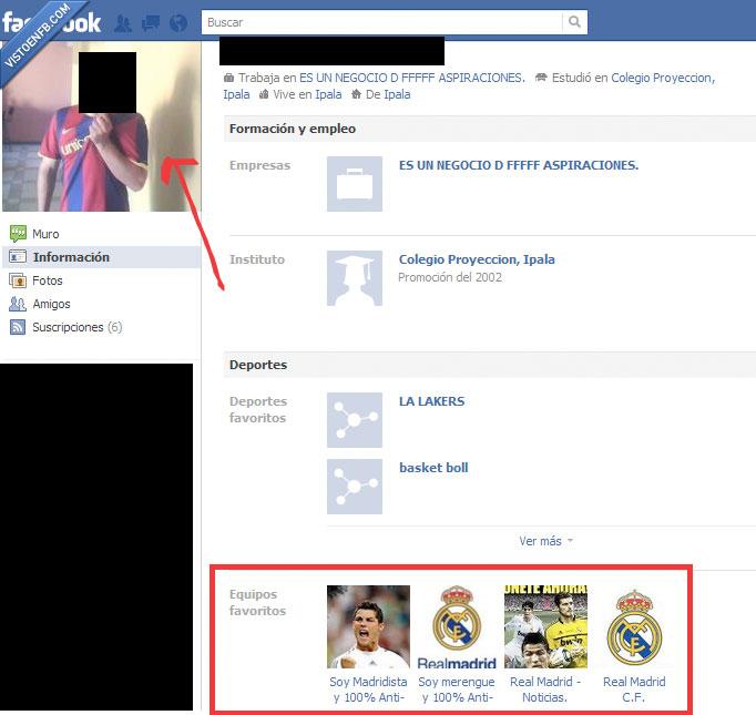 Barcelona,fail,fan,incongruencia,Real Madrid