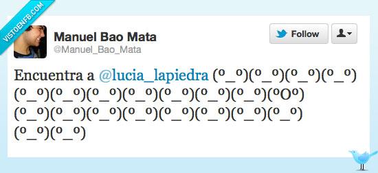 encuentra,Lucía Lapiedra