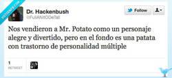 Enlace a La verdad sobre Mr. Potato por @FullANitODeTall