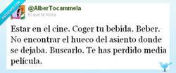 Enlace a En el cine por @AlberTocammela