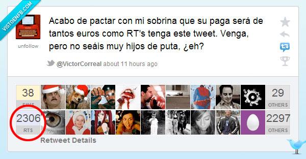 paga,rt,sobrina,tweet,twitter