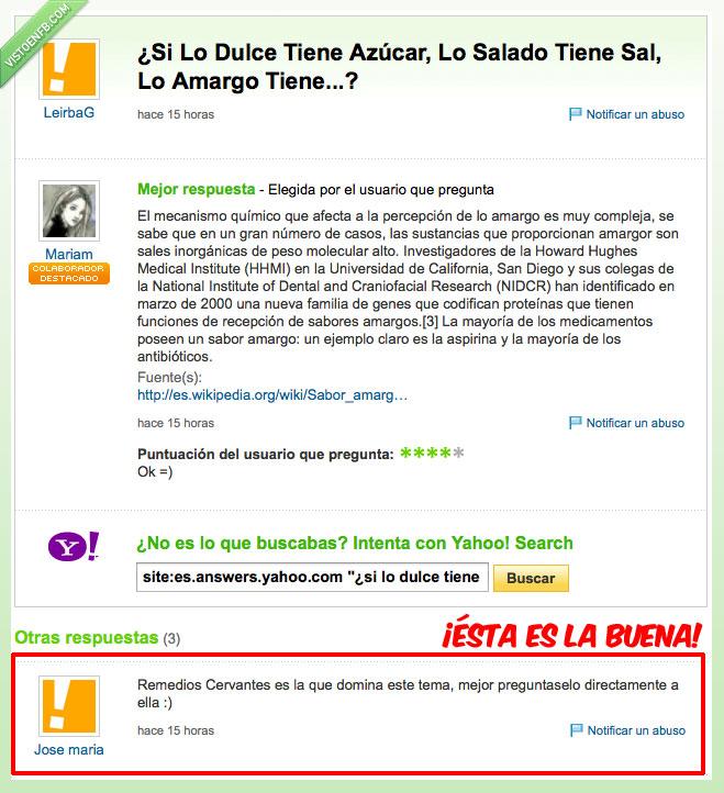 azucar,Remedios Cervantes,sal,Yahoo respuestas