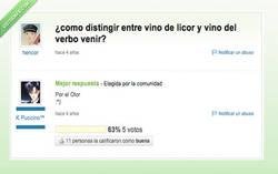Enlace a ¿Vino el vino tinto?