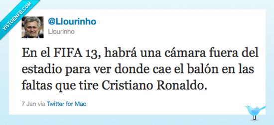 cristiano ronaldo,faltas,fifa 13,novedades