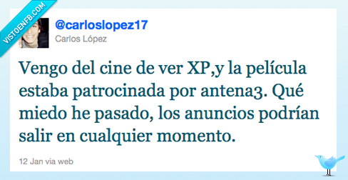 antena3,anuncios,cine,twitter,xp3d