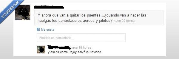navidad.,Rajoy