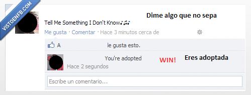 adoptada,canción,facebook,fail,win,zasca
