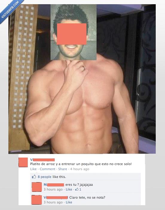 abdominales,crédulos,facebook,foto,músculos,photoshop,tio
