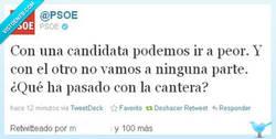 Enlace a El PSOE la caga en twitter, ¿en qué estarían pensando? ¿que nadie lo leería?