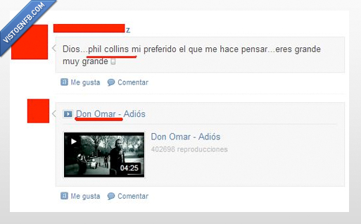 don omar,musica,phil collins
