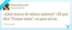 Enlace a ¿Qué marca de tabaco quieres? por @PatriGijonGil