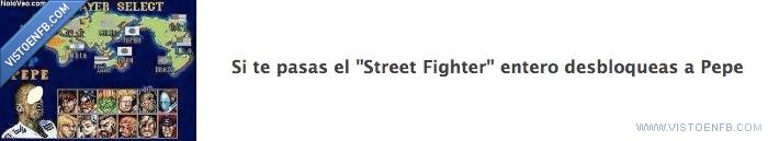 desbloquear,Pepe,Street Fighter
