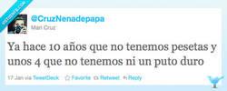 Enlace a Las pesetas por @CruzNenadepapa