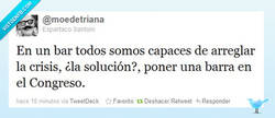 Enlace a La solución a la crisis según @moedetriana