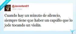 Enlace a Un minuto de silencio POR @Javierlsm91