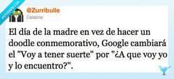 Enlace a Google el día de la madre por @Zurribulle