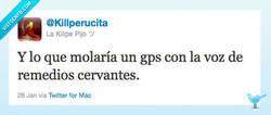 Enlace a El mejor GPS por @Killperucita