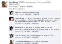 Enlace a El Facebook de Chewbacca
