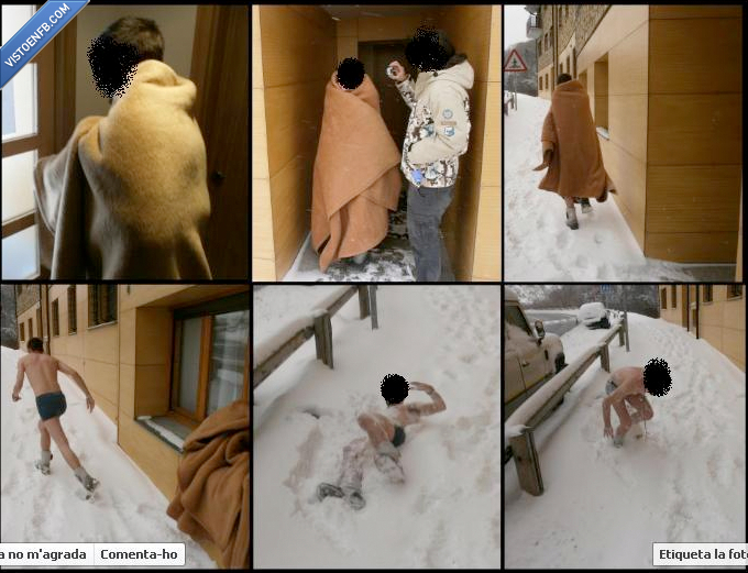 calzoncillos,frio,nieve,perder apuesta