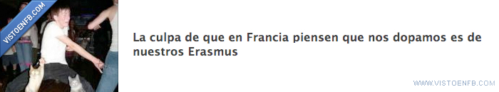 dopping,erasmus,francia