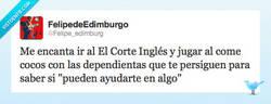 Enlace a Pacman en el Corte Inglés por @Felipe_edimburg