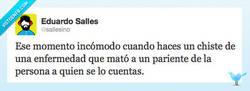 Enlace a Chistes incómodos por @Eduardo Salles