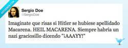 Enlace a El apellido perfecto para Hitler por @SergioDoe