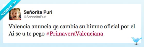 ai si eu te pego,ies lluís vives,primavera valenciana,twitter,Valencia
