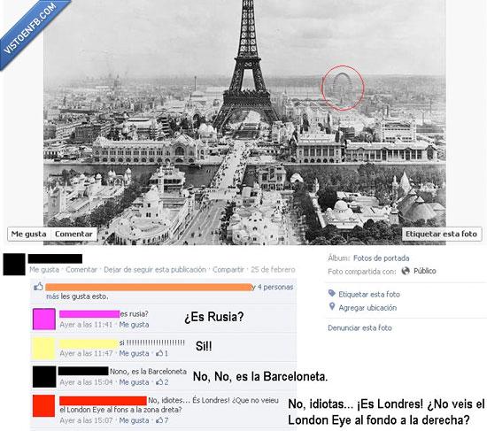 London Eye,Londres,París