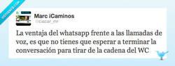 Enlace a Las ventajas del whatsapp por @ciscar_mr