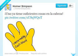 Enlace a Acordarse de las cosas por @HomerSimposonES