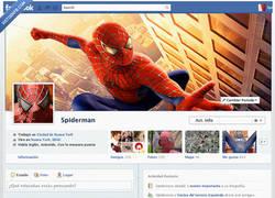 Enlace a Facebook de Spiderman