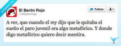 Enlace a El Rey necesita Dormidinas por @elbaronrojo