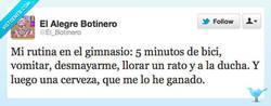 Enlace a Rutina de gimnasio por @El_Botinero