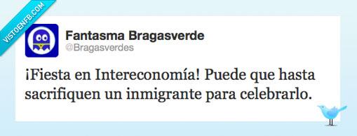 fiesta,inmigrante,intereconomia,sacrificio
