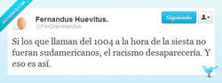 Enlace a Eliminar el racismo por @FerDiarreandus