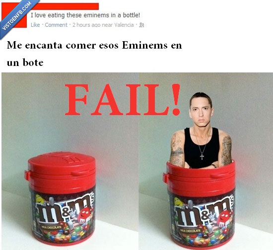 eminem,eminems,facebook,m&m