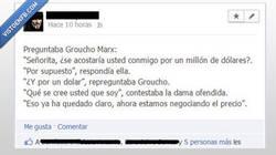 Enlace a Gran frase de Groucho Marx
