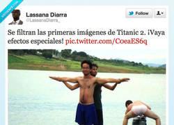 Enlace a Titanic 2 es impresionante por @LassanaDiarra_
